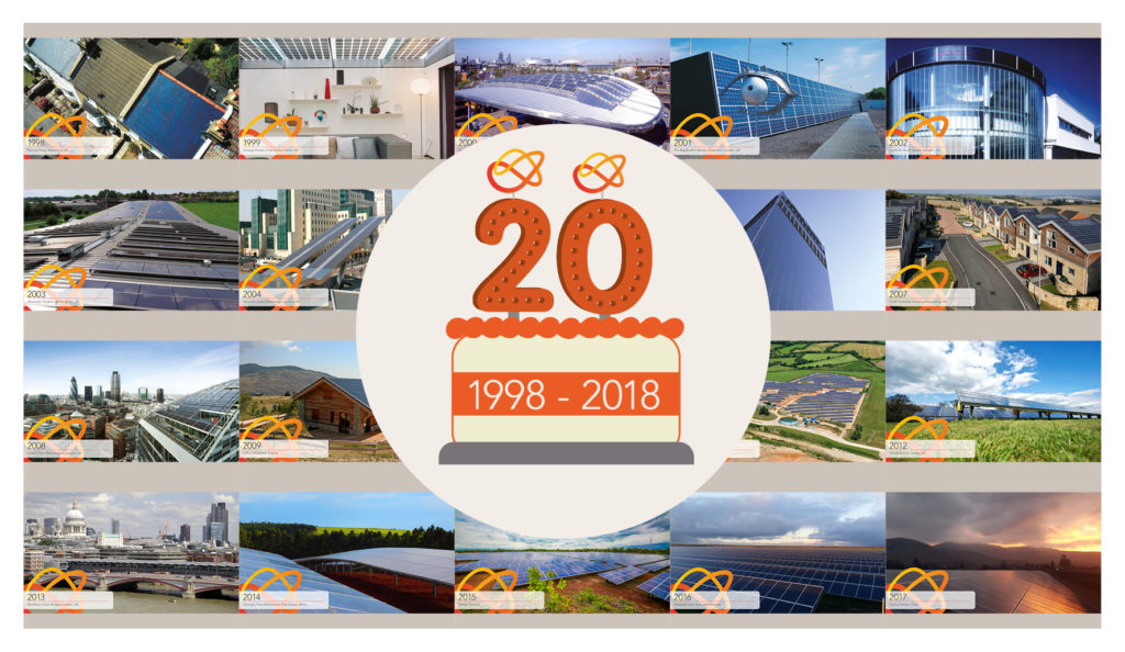 Solarcentury turns 20