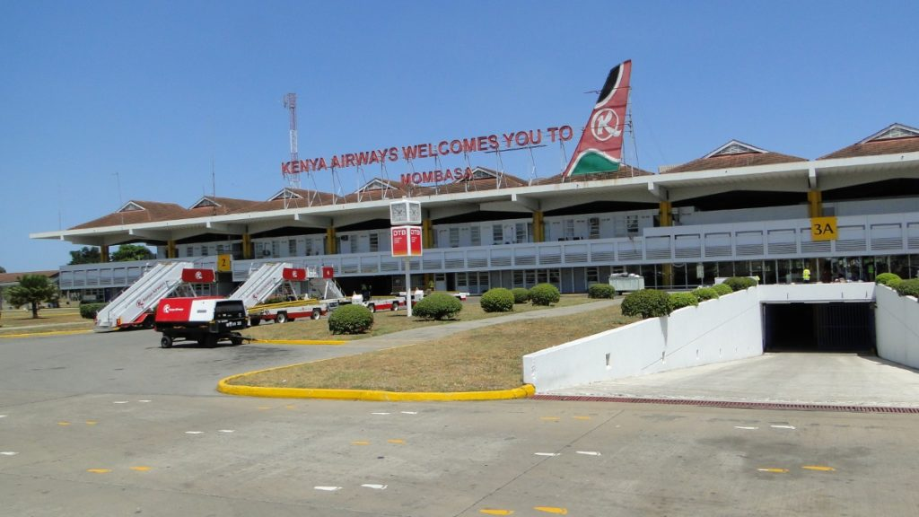 Moi International Airport, Mombasa