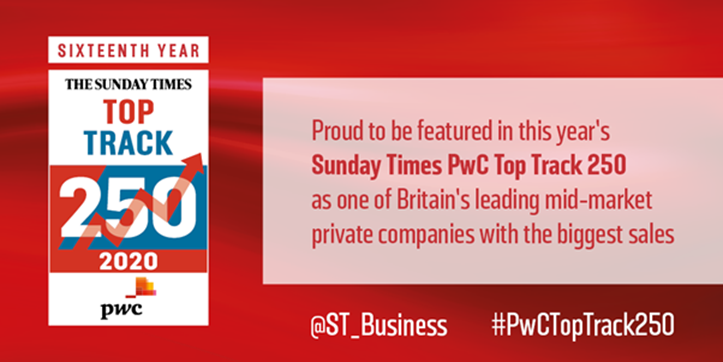 Sunday Times PwC Top Track 250